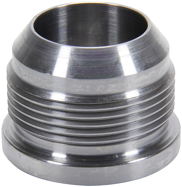 Allstar Performance 50773 Bung, 10 AN Male, Weld-On, Steel, Natural, Each