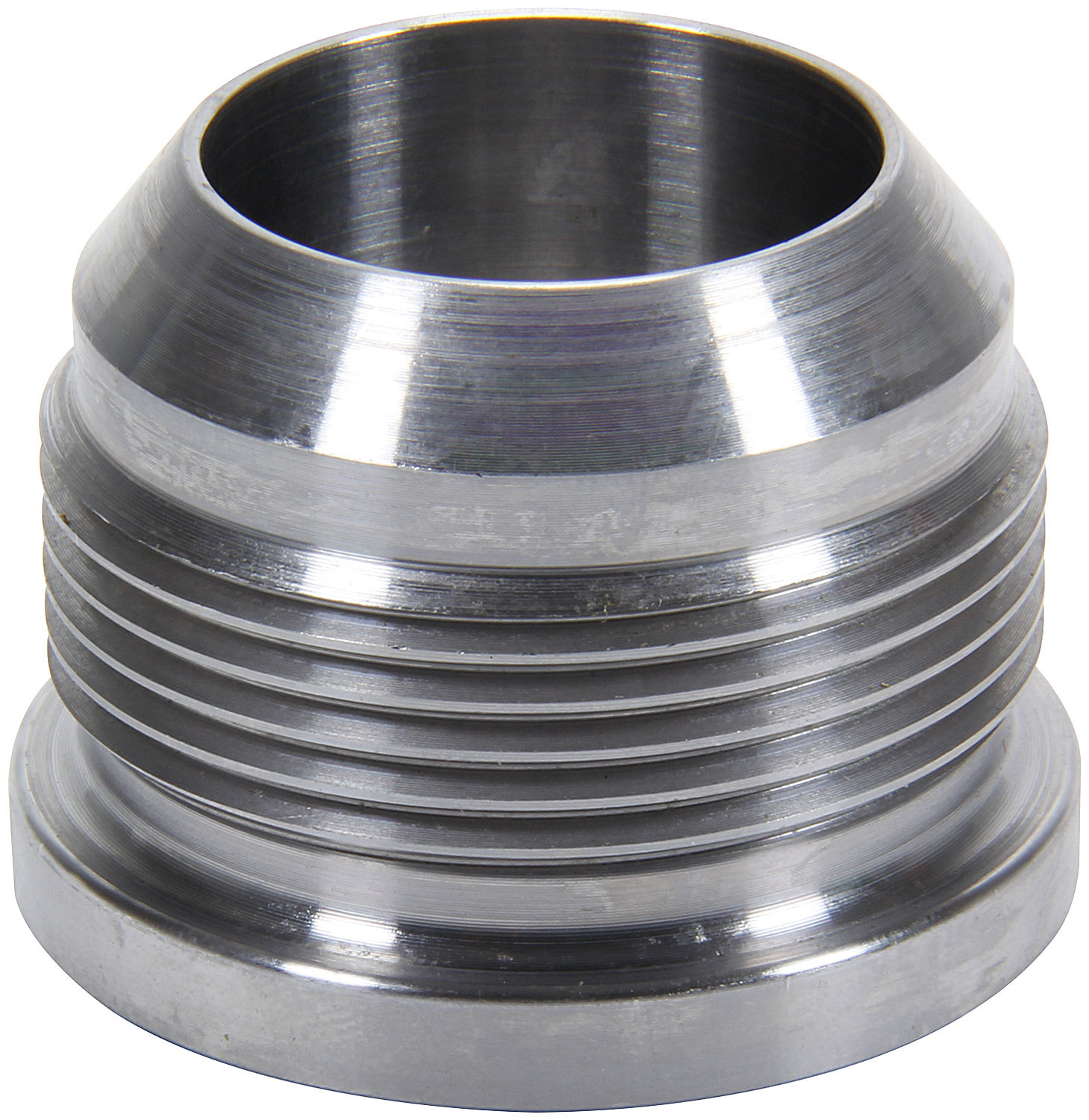 Allstar Performance 50776 Bung, 20 AN Male, Weld-On, Steel, Natural, Each