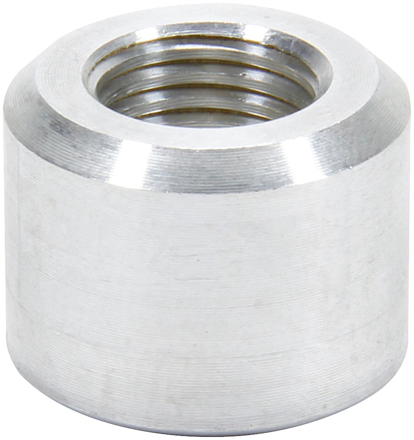 Allstar Performance 50780 Bung, 4 AN Female O-Ring, Weld-On, Aluminum, Natural, Each