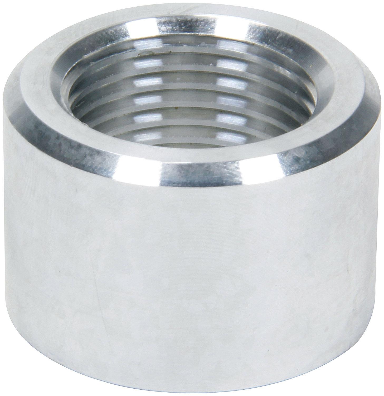 Allstar Performance 50783 Bung, 10 AN Female O-Ring, Weld-On, Aluminum, Natural, Each