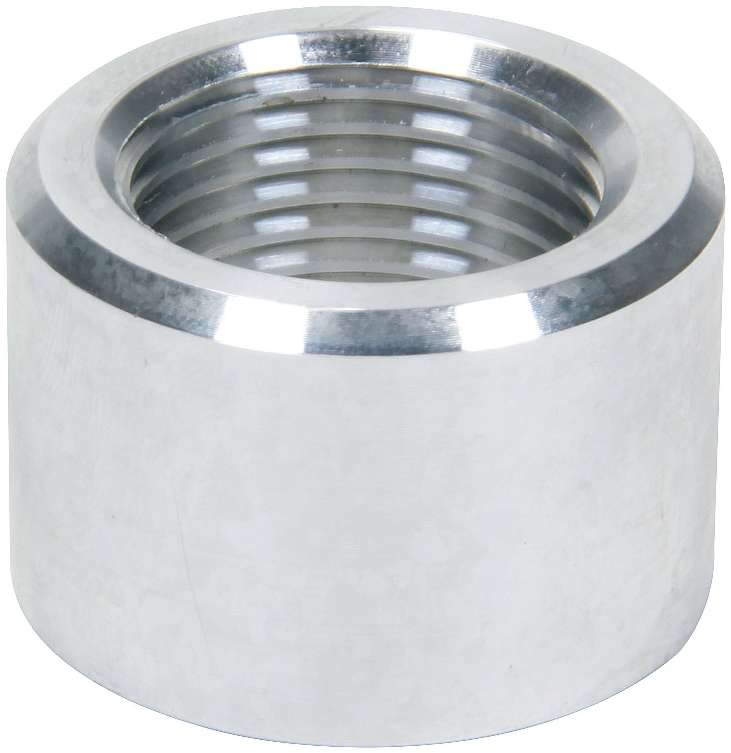 Allstar Performance 50784 Bung, 12 AN Female O-Ring, Weld-On, Aluminum, Natural, Each