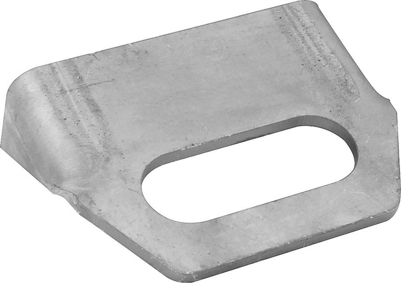 Allstar Performance 52120 Steering Column Bracket, Weld-On, 2-1/2 in Long, Steel, Natural, Each