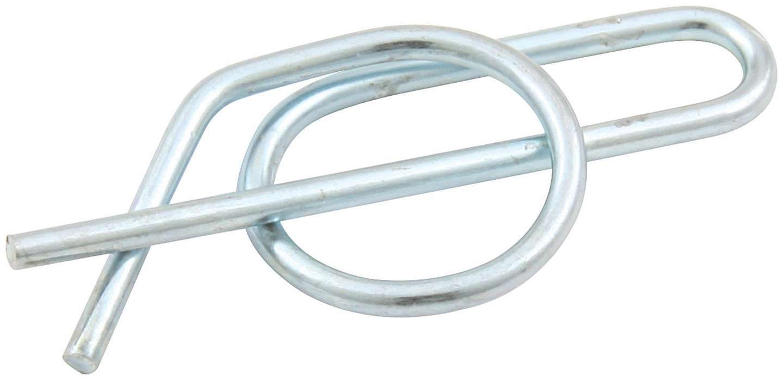 Allstar Performance 55098 Jacobs Ladder Pin Clip, Steel, Zinc Oxide, 1/2 in Diameter Pins, Sprint Car, Each