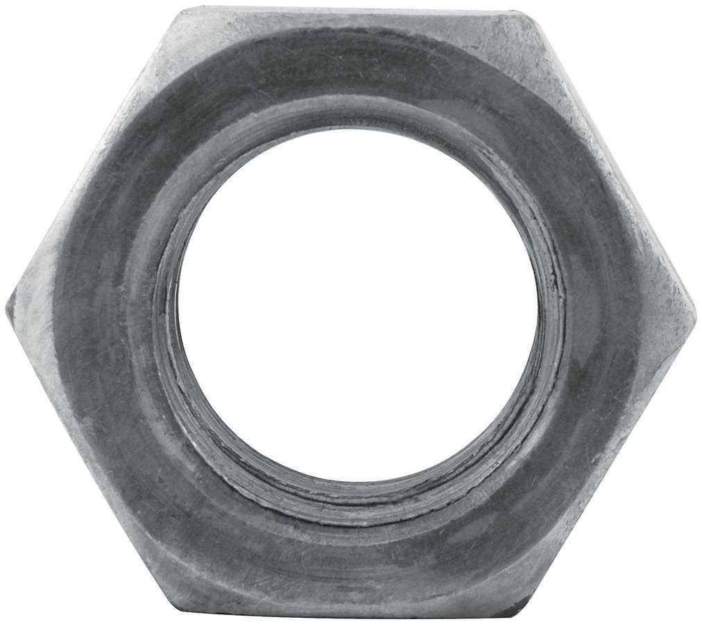 Allstar Performance 56110 Nut, 1-8 in Thread, Steel, Zinc Oxide, Allstar Jack Bolts, Each