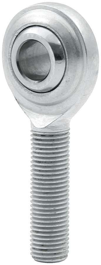 Allstar Performance 58004 Rod End, Standard, Spherical, 1/4 in Bore, 1/4-28 in Right Hand Male Thread, Steel, Zinc Oxide, Each