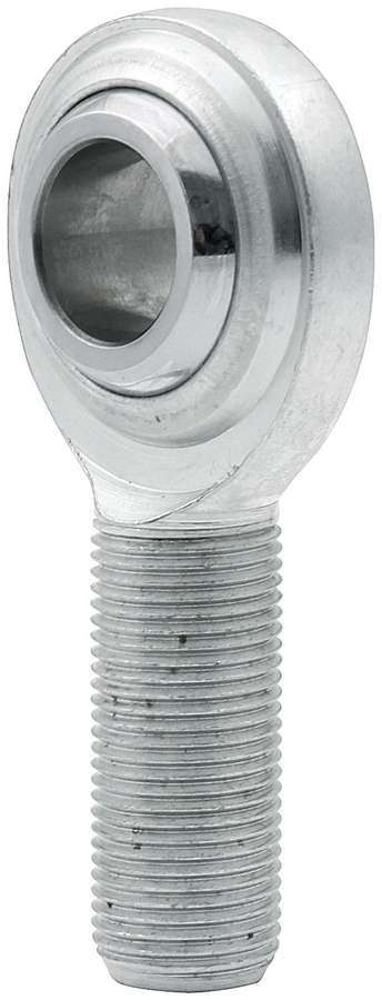 Allstar Performance 58012 Rod End, Standard, Spherical, 3/4 in Bore, 3/4-16 in Right Hand Male Thread, Steel, Zinc Oxide, Each