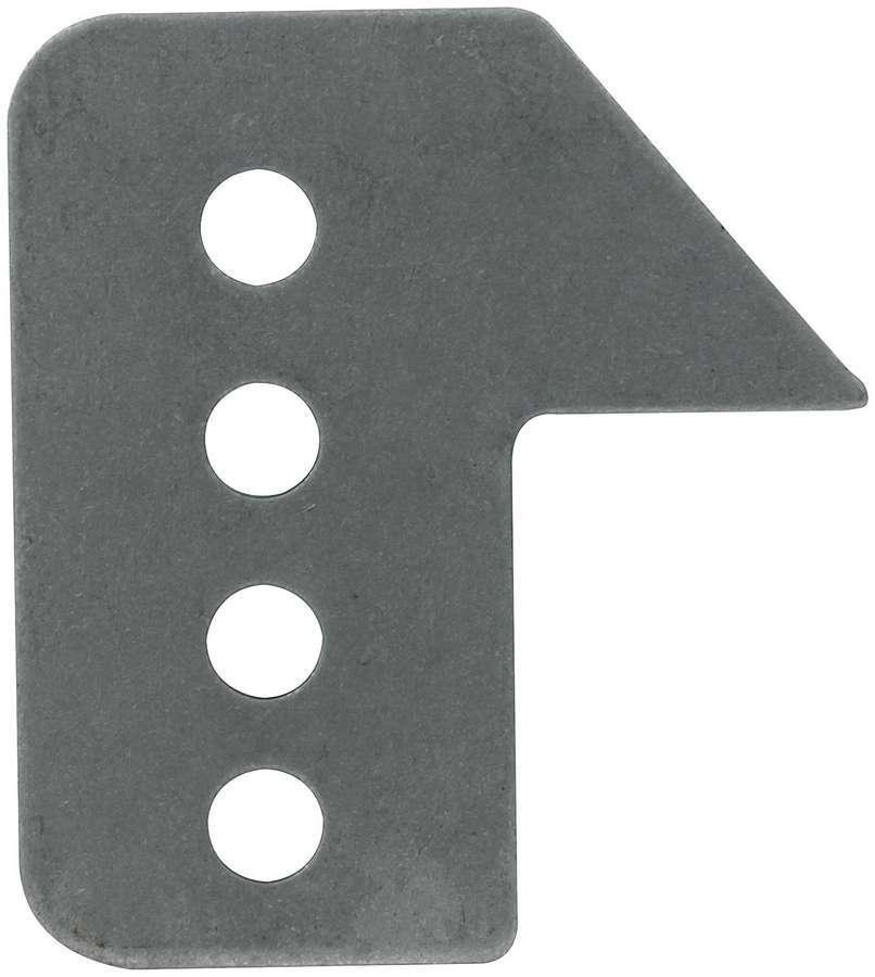 Allstar Performance 60045 Trailing Arm Bracket, Frame Mount, Weld-On, Adjustable, 5/8 in Holes, Steel, Natural, Each