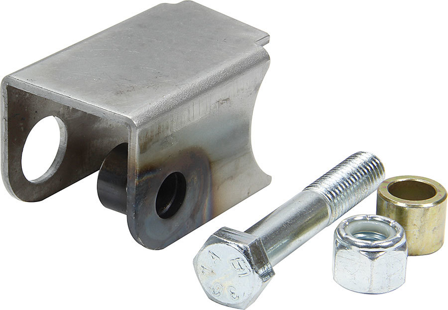 Allstar Performance 60100 Shock Mount, Driver Side, Weld-On, Notched, Steel, Natural, Universal, Each