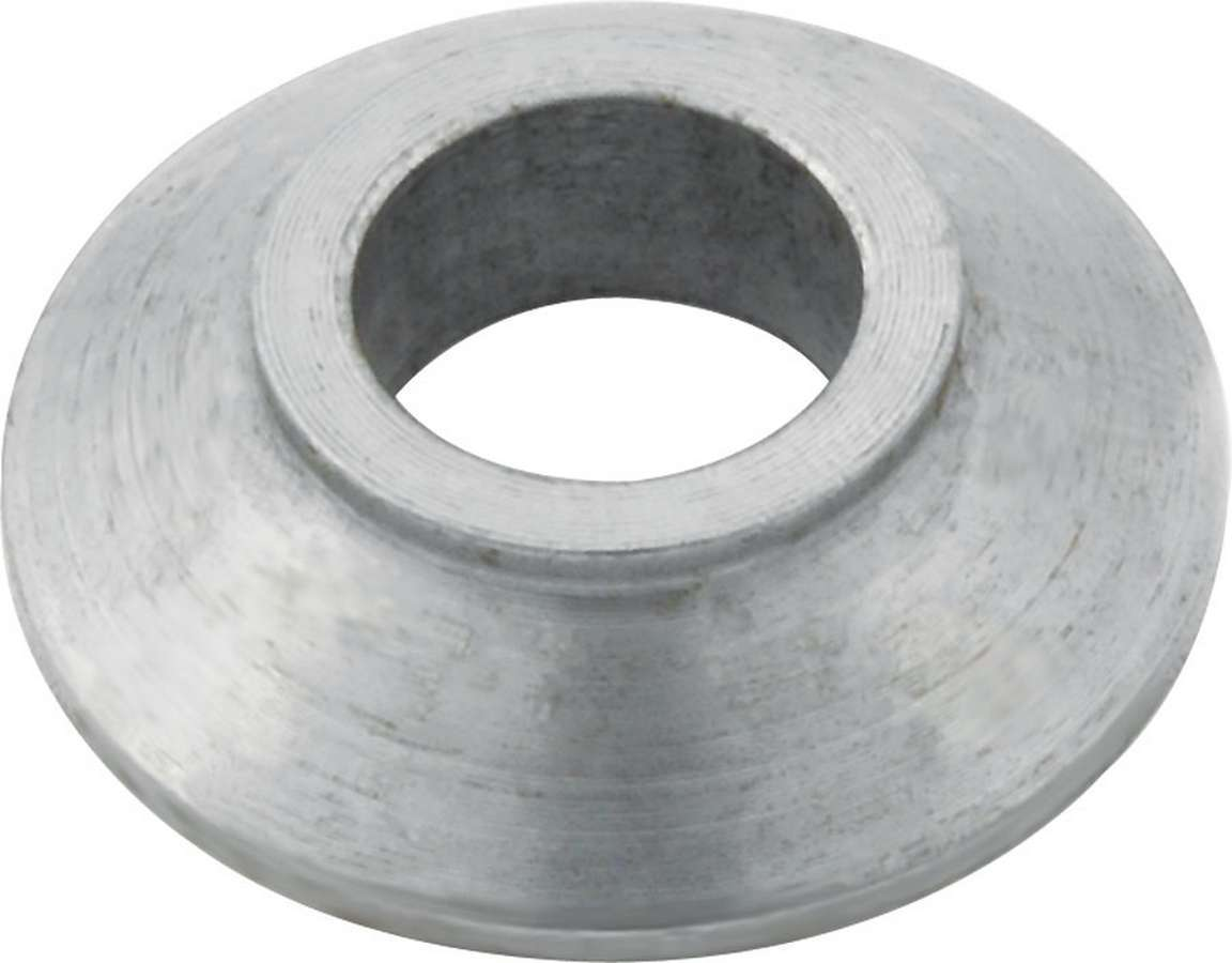 Allstar Performance 60187-10 Tapered Spacer, 1/2 in ID, 7/16 in Thick, Steel, Zinc Oxide, Universal, Set of 10