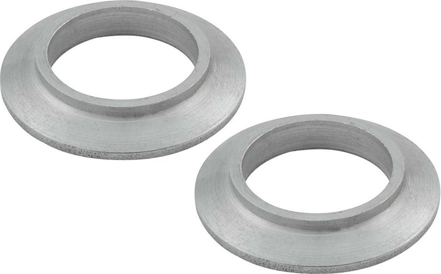 Allstar Performance 60189-10 Tapered Spacer, 3/4 in ID, 21/64 in Thick, Steel, Zinc Oxide, Universal, Set of 10