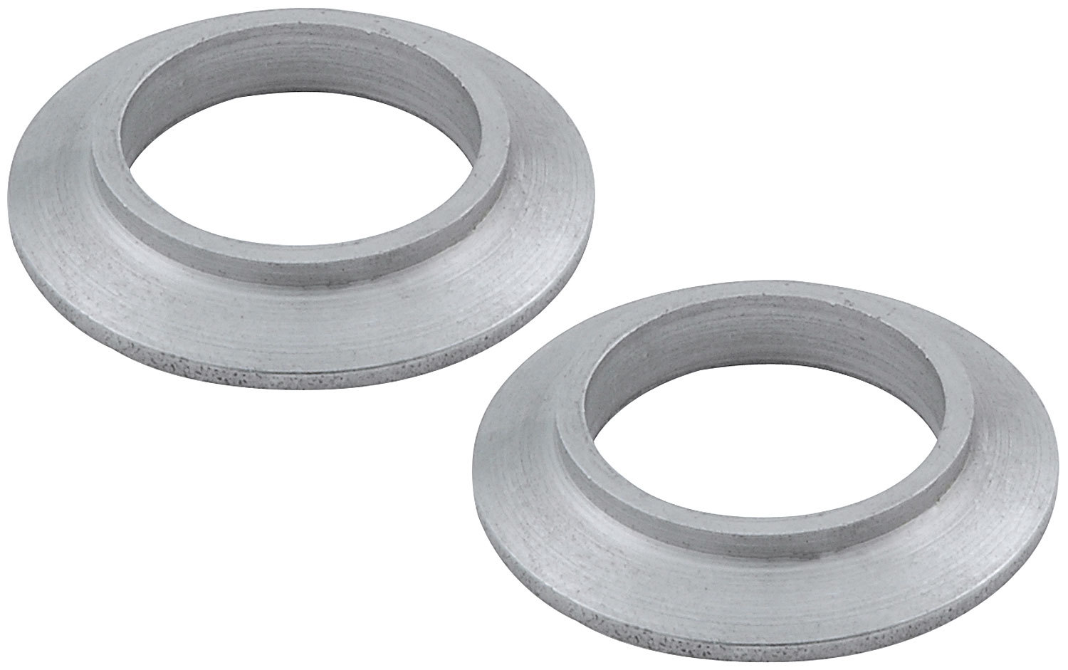 Allstar Performance 60189-50 Tapered Spacer, 3/4 in ID, 21/64 in Thick, Steel, Zinc Oxide, Universal, Set of 50