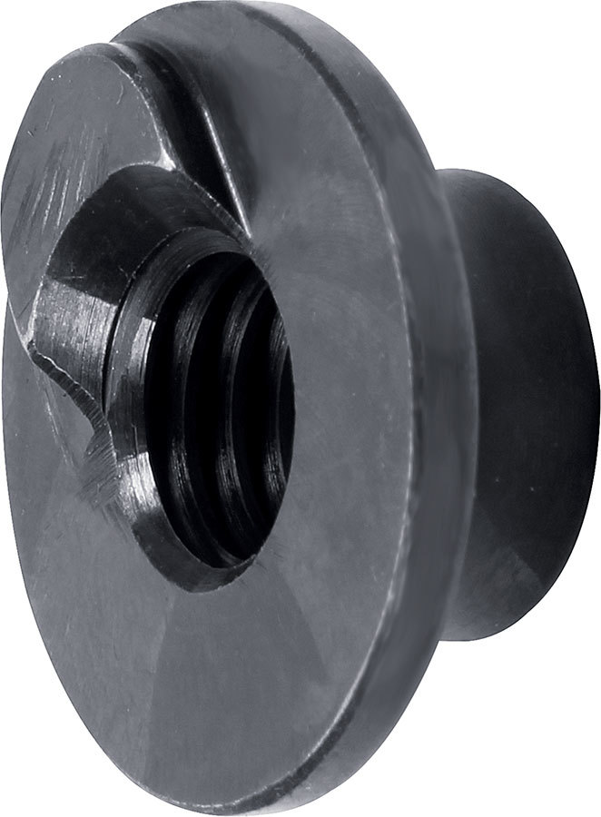 Allstar Performance 60194 T-Nut, 1/2-13 in Thread, Steel, Black, Allstar Slider Trailing Arm Brackets, Each