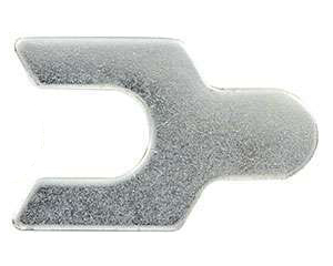Allstar Performance 60200 Control Arm Shims, Upper, Individual Mount, 1/16 in, Steel, Zinc Oxide, Set of 10