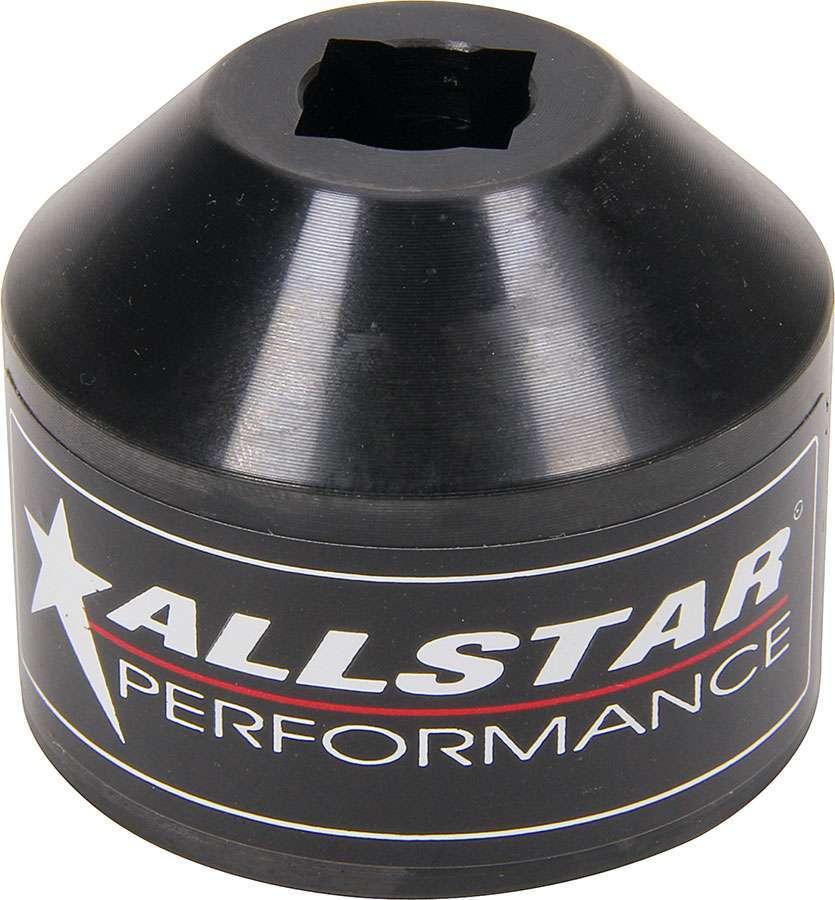 Allstar Performance 64255 Shock Eye Socket, 1/2 in Drive, 0.640 in Max Width, Steel, Black Oxide, Universal, Each