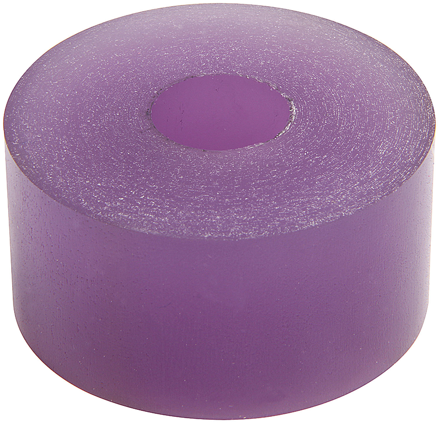 Allstar Performance 64378 Bump Stop Puck, 2 in OD, 1/2 in ID, 1 in Tall, 60 Durometer, Polyurethane, Purple, 14 mm Shocks, Each