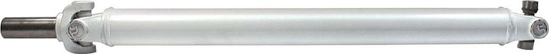 Allstar Performance 69019 Drive Shaft, 29-1/2 in Long, 2-1/2 in OD, Slip Yoke / U-Joints, Steel, White Paint, Kit