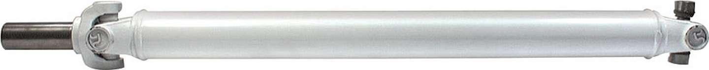 Allstar 69020 Drive Shaft, 30-1/2 in Long, 2-1/2 in OD, Slip Yoke / U-Joints, Steel, White Paint, Kit