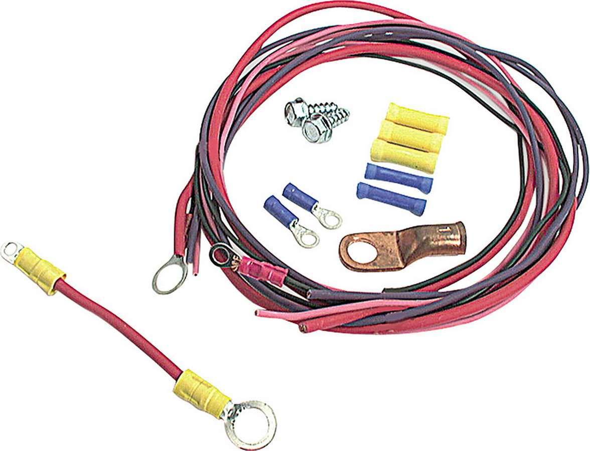 Allstar Performance 76201 Wiring Kit, Starter Solenoid, Terminals / Wire, Ford Style Solenoids, Kit