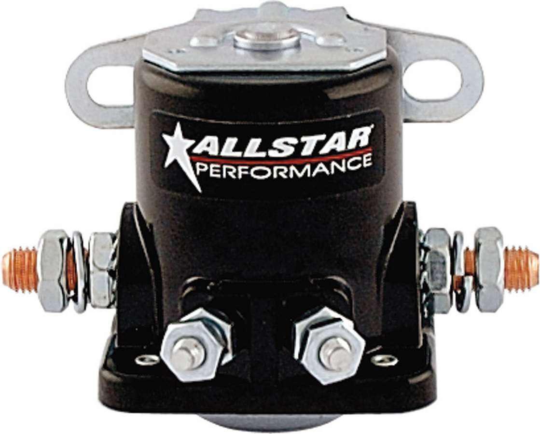 Allstar Performance 76203 Starter Solenoid, Ford Style, Black, Each
