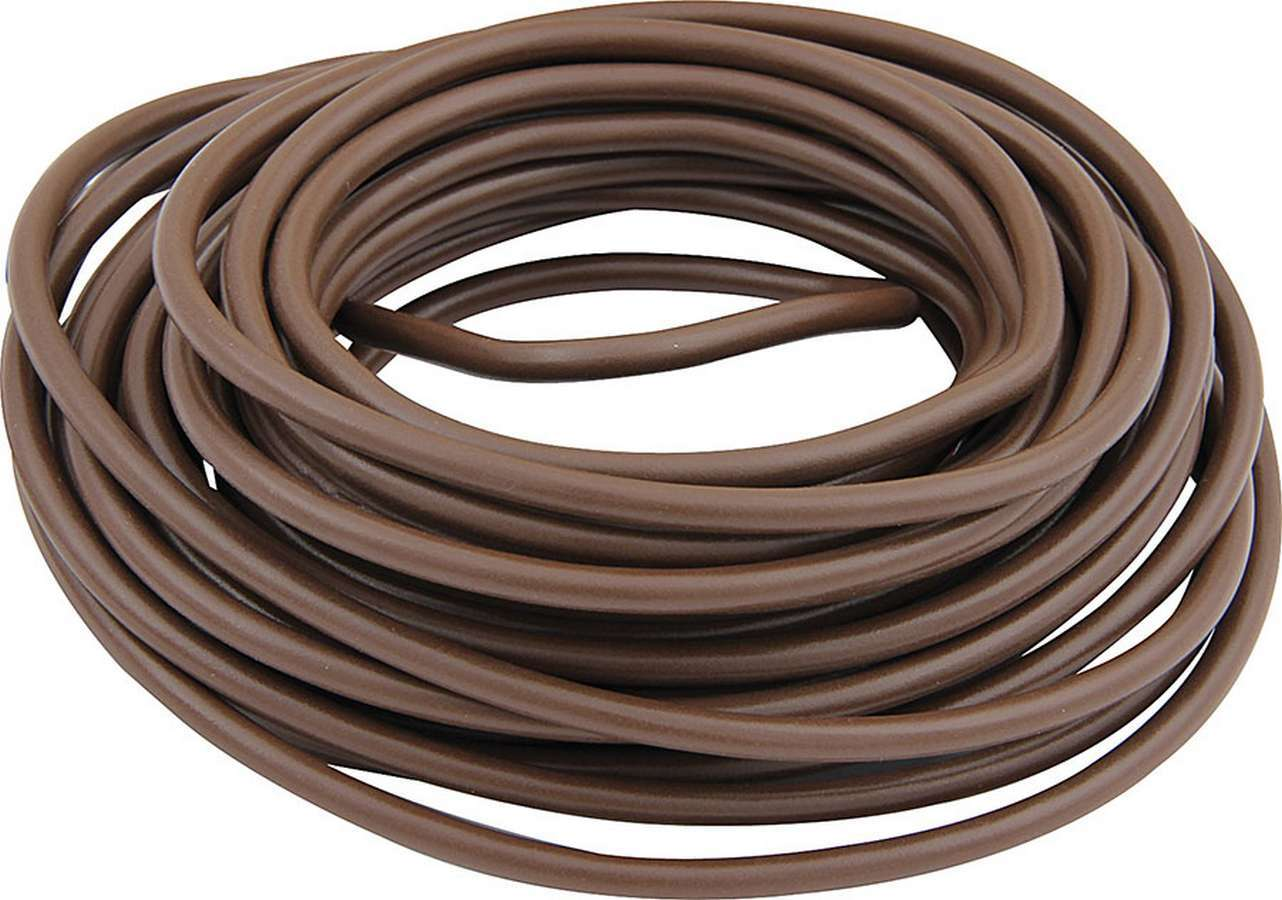 Allstar Performance 76505 Wire, 20 Gauge, 50 ft Roll, Plastic Insulation, Copper, Brown, Each