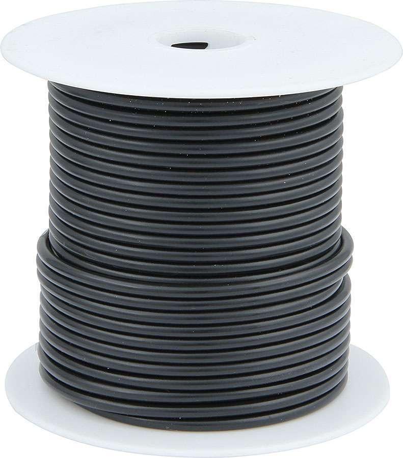 Allstar Performance 76511 Wire, 20 Gauge, 100 ft Roll, Plastic Insulation, Copper, Black, Each