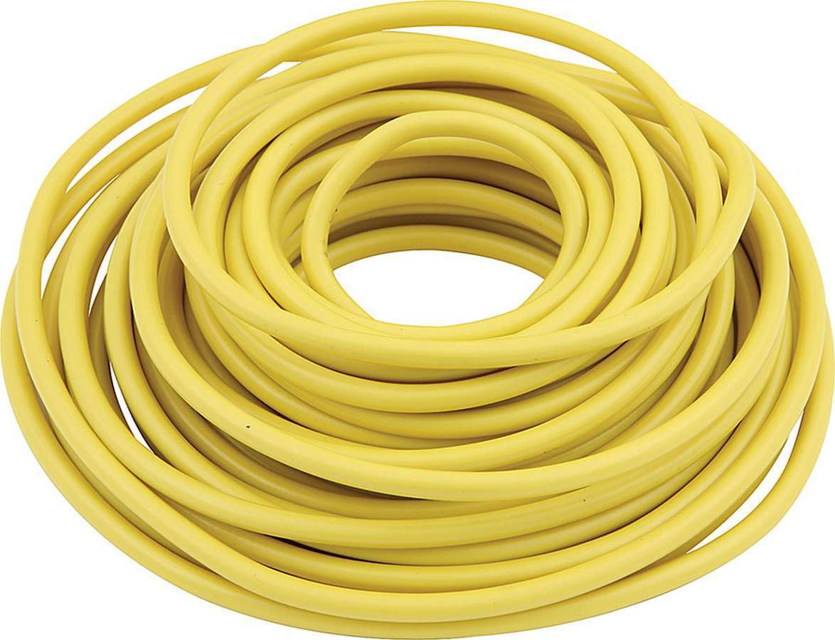 Allstar Performance 76544 Wire, 14 Gauge, 20 ft Roll, Plastic Insulation, Copper, Yellow, Each