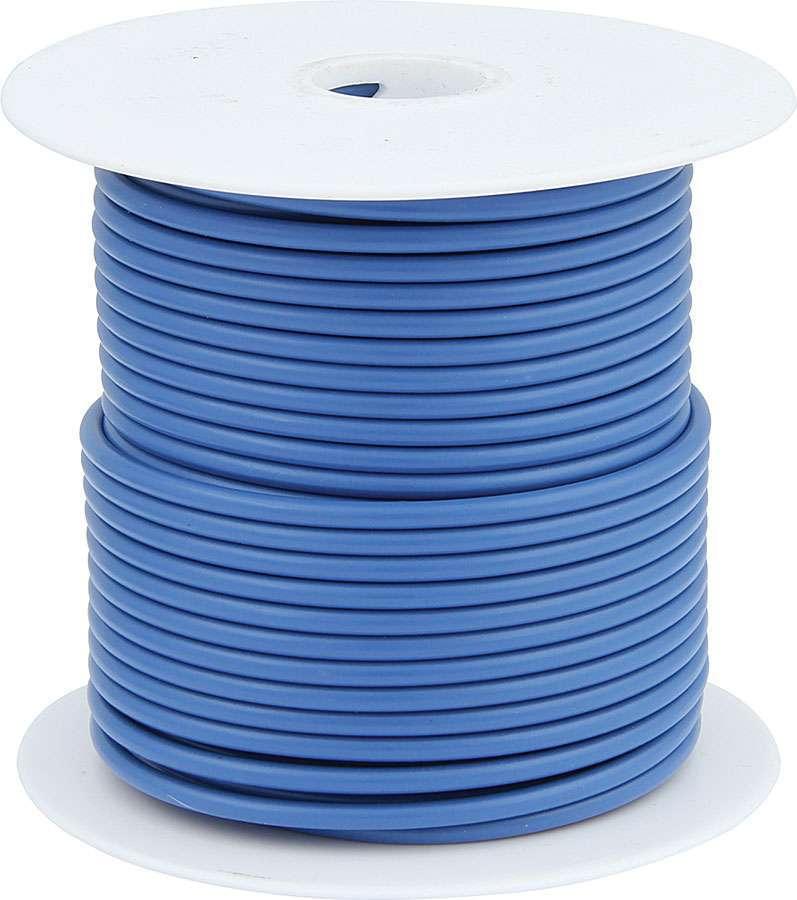 Allstar Performance 76556 Wire, 14 Gauge, 100 ft Roll, Plastic Insulation, Copper, Blue, Each