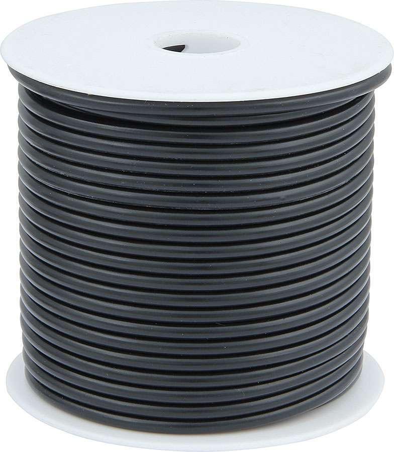 Allstar Performance 76566 Wire, 12 Gauge, 100 ft Roll, Plastic Insulation, Copper, Black, Each