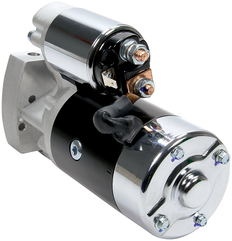 Allstar Performance 80516 Starter, High-Torque, 3.75:1 Gear Reduction, Black, 168 Tooth Flywheel, GM LS-Series, Each