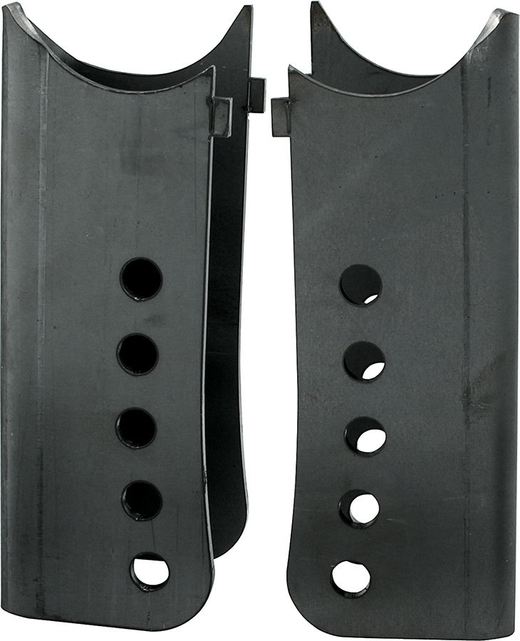 Allstar Performance 99284 Trailing Arm Bracket, Stock, Lower, Weld-On, 3 in OD Axle Tubes, Steel, Natural, Pair