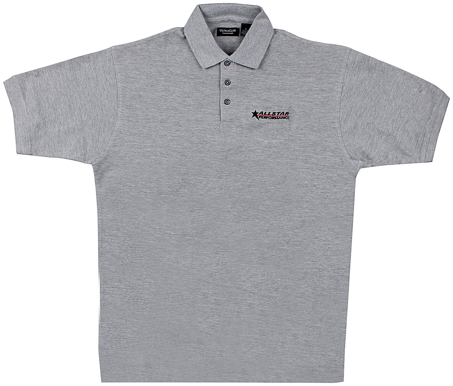 Allstar Performance  Golf Shirt Dark Gray Large