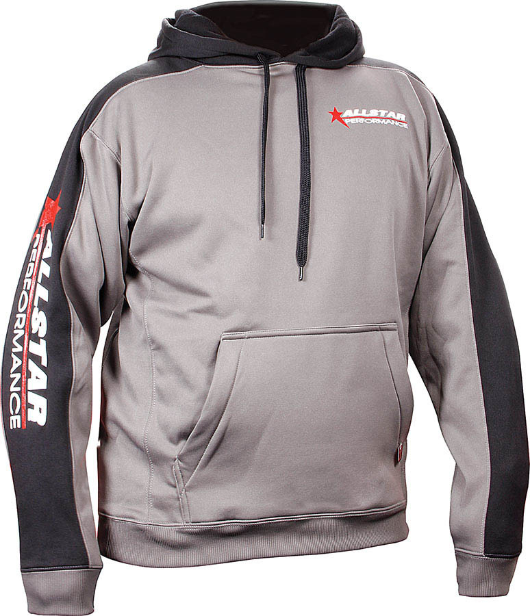 Allstar Performance  Hooded Sweatshirt Lg Silver/Blk