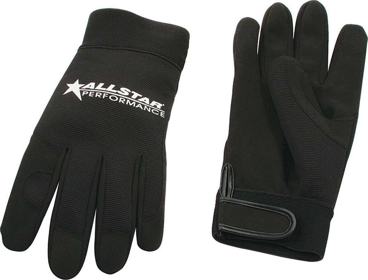 Allstar Performance  Gloves Blk Lg Crew Gloves
