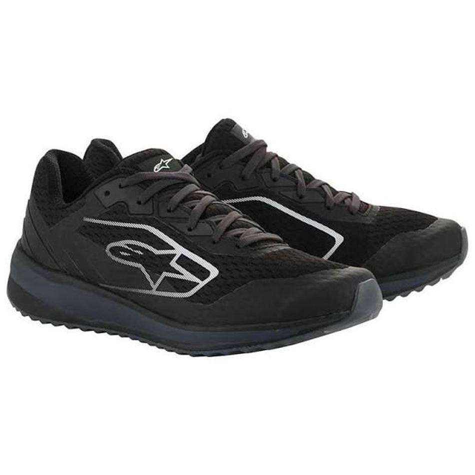Alpinestars USA 2654520L-111-12.5 Shoe, Meta Road, Low-Top, Black / Gray, Size 12.5, Pair