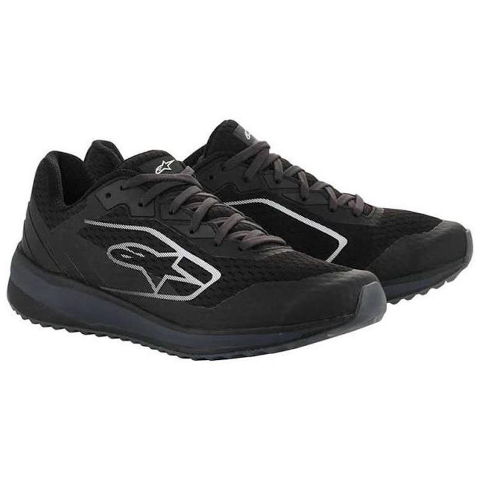 Alpinestars USA 2654520L-111-13.5 Shoe, Meta Road, Low-Top, Black / Gray, Size 13.5, Pair