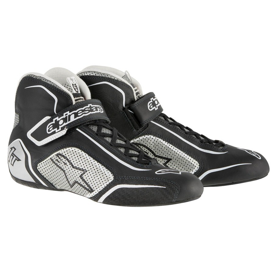 Tech 1-T Shoe Black / Silver Size 8.5