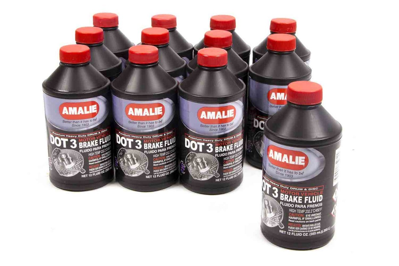 Dot 3 Brake Fluid Case 12x12 Oz