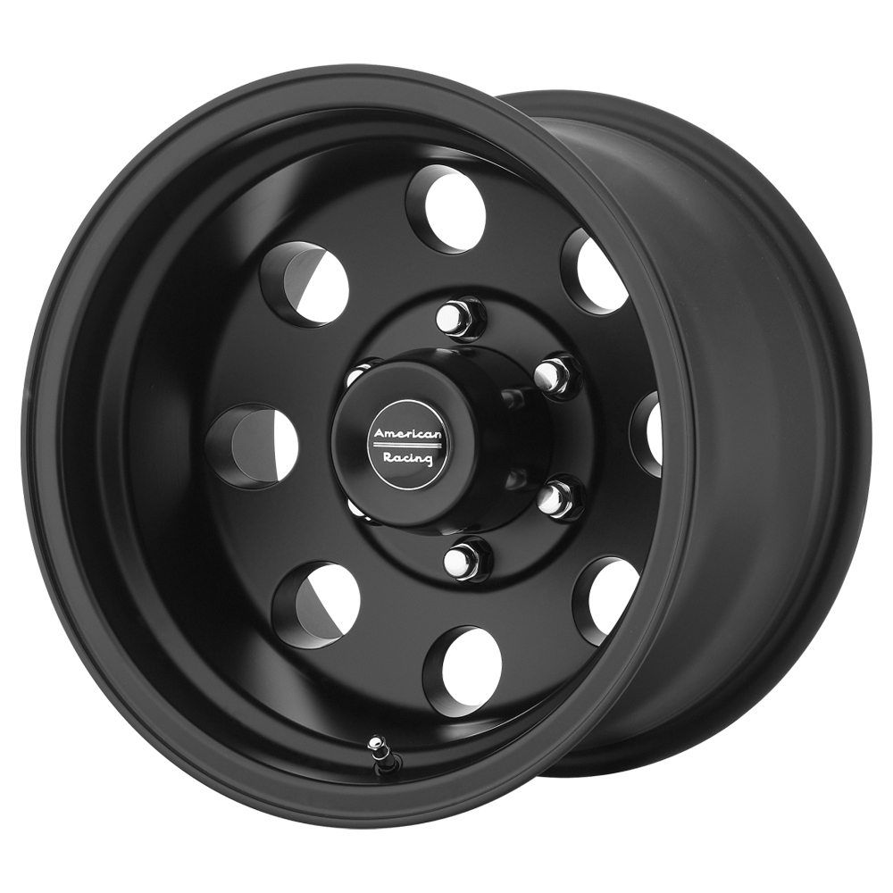American Racing 17x8 Baja 6x139.70 BC Satin Black