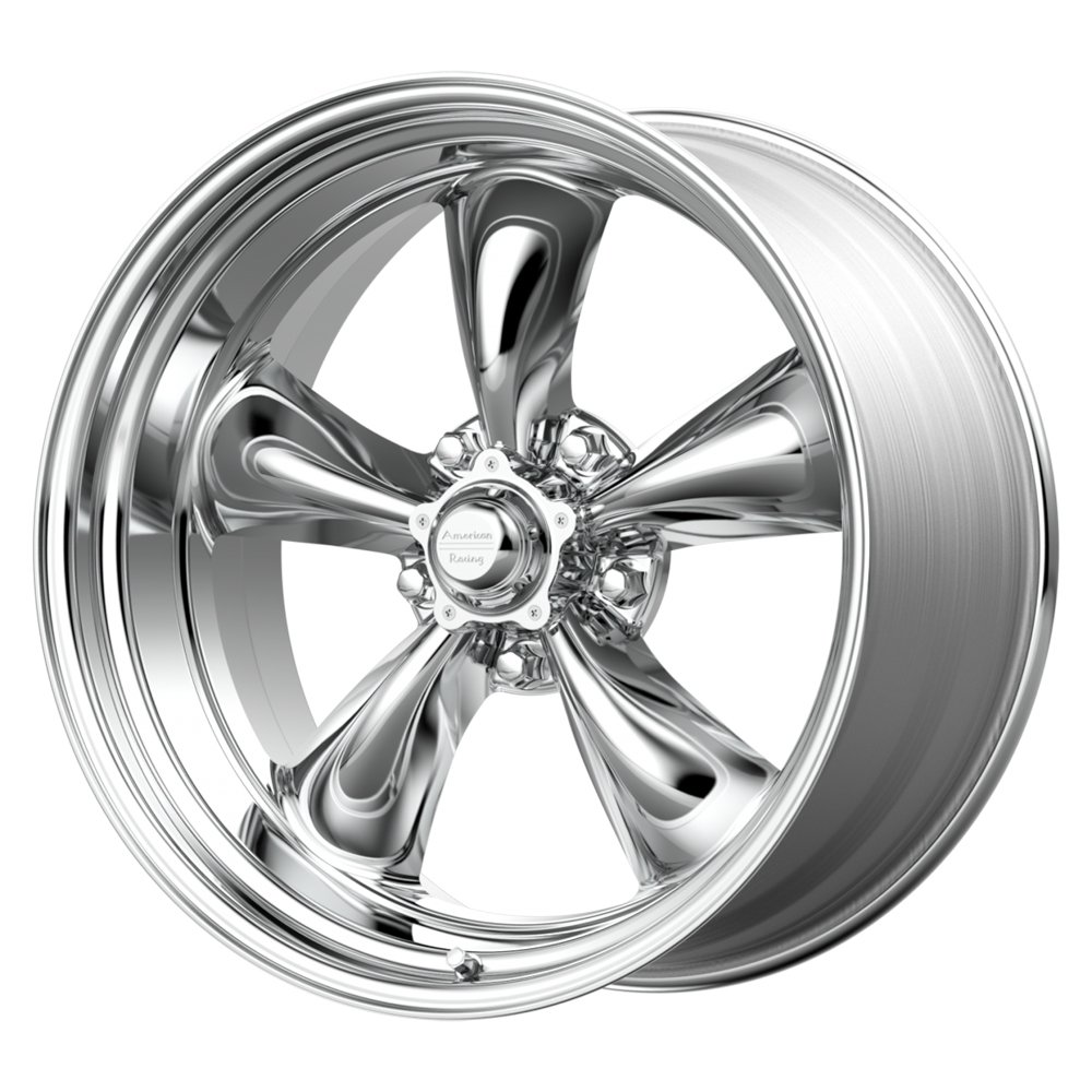 American Racing 15x8 Torq Thrust II 5x120.65 BC Polished