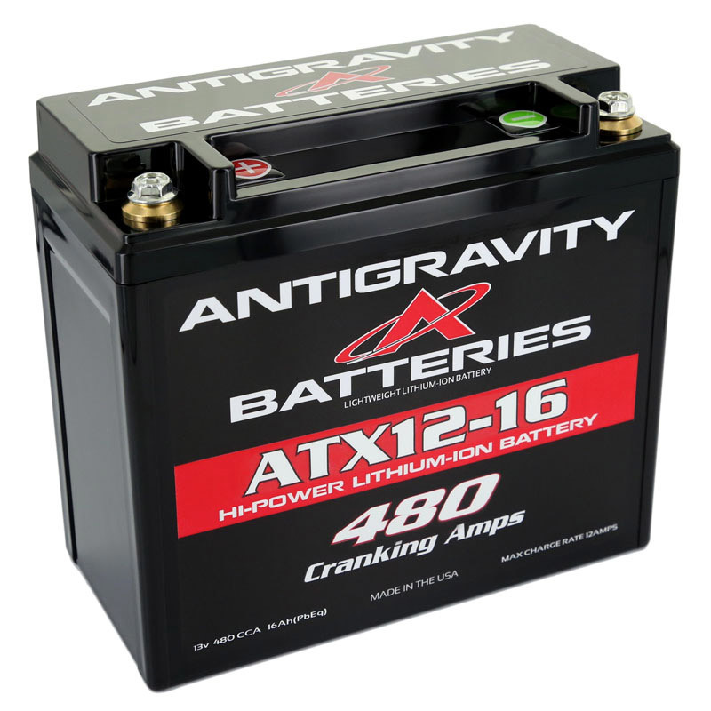 Lithium Battery 480CCA 12Volt 3Lbs 16 Cell