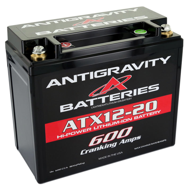 Lithium Battery 600CCA 12Volt 3Lbs 20 Cell