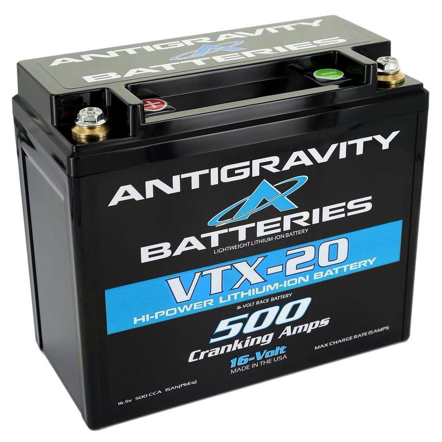 Lithium Battery 500CCA 16Volt 4.5Lbs 20 Cell