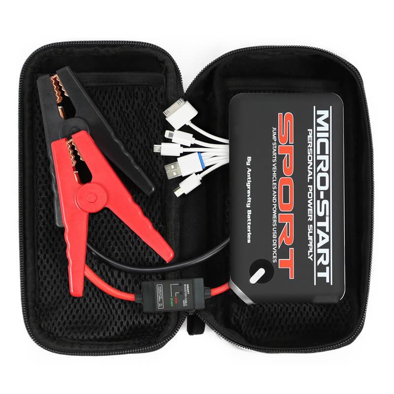 Micro Start Sport Jump Starter 1 Port w/Case