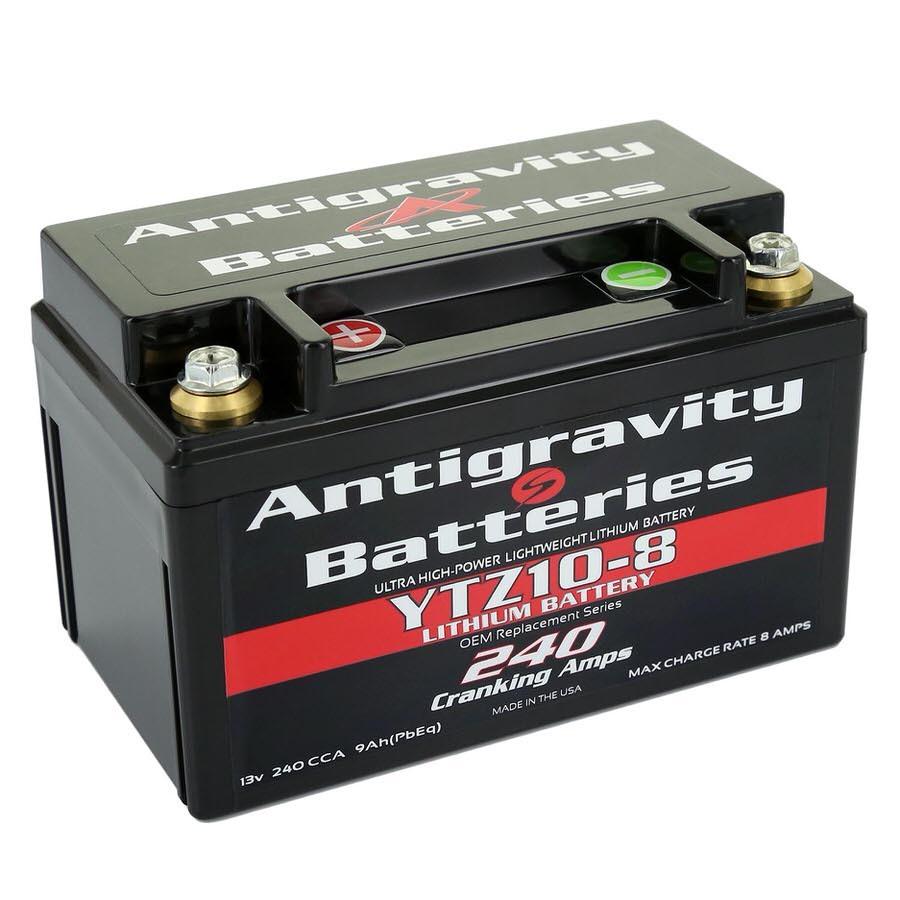 YTZ10 Style Case 8-Cell 240 CA  9 Ah (PbEq)
