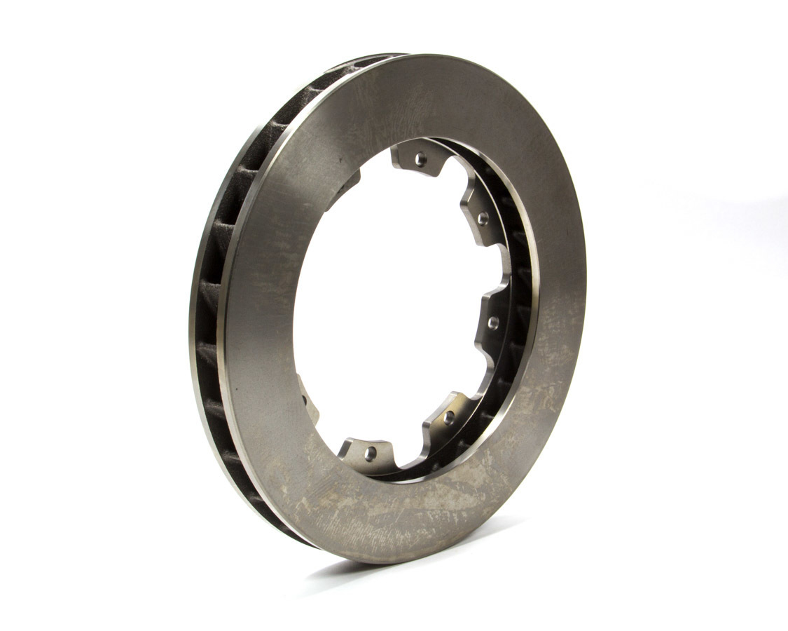 AP Brake 1901780 Brake Rotor, Passenger Side, Directional / Plain, 11.750 in OD, 1.250 in Thick, 8 x 7.000 in Bolt Pattern, Iron, Natural, Each
