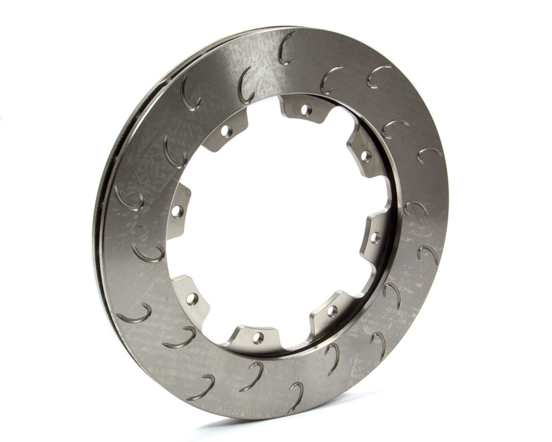 AP Brake 1901792 Brake Rotor, J-Hook, Passenger Side, Directional / J-Hook Slotted, 11.750 in OD, 0.810 in Thick, 8 x 7.000 in Bolt Pattern, Iron, Natural, Each