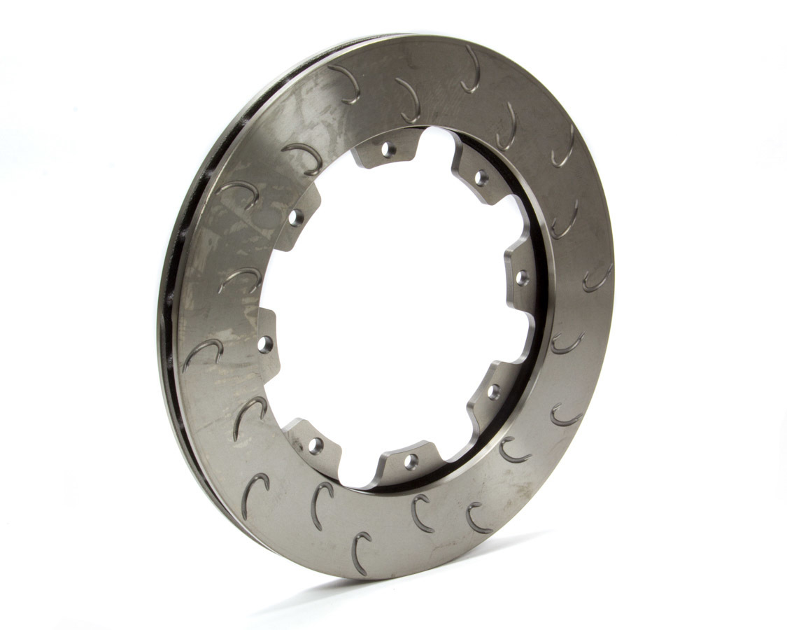 AP Brake 1901793 Brake Rotor, J-Hook, Driver Side, Directional / J-Hook Slotted, 11.750 in OD, 0.810 in Thick, 8 x 7.000 in Bolt Pattern, Iron, Natural, Each