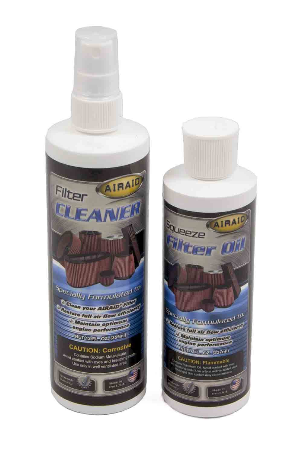 Filter Oil & Cleaner Kit