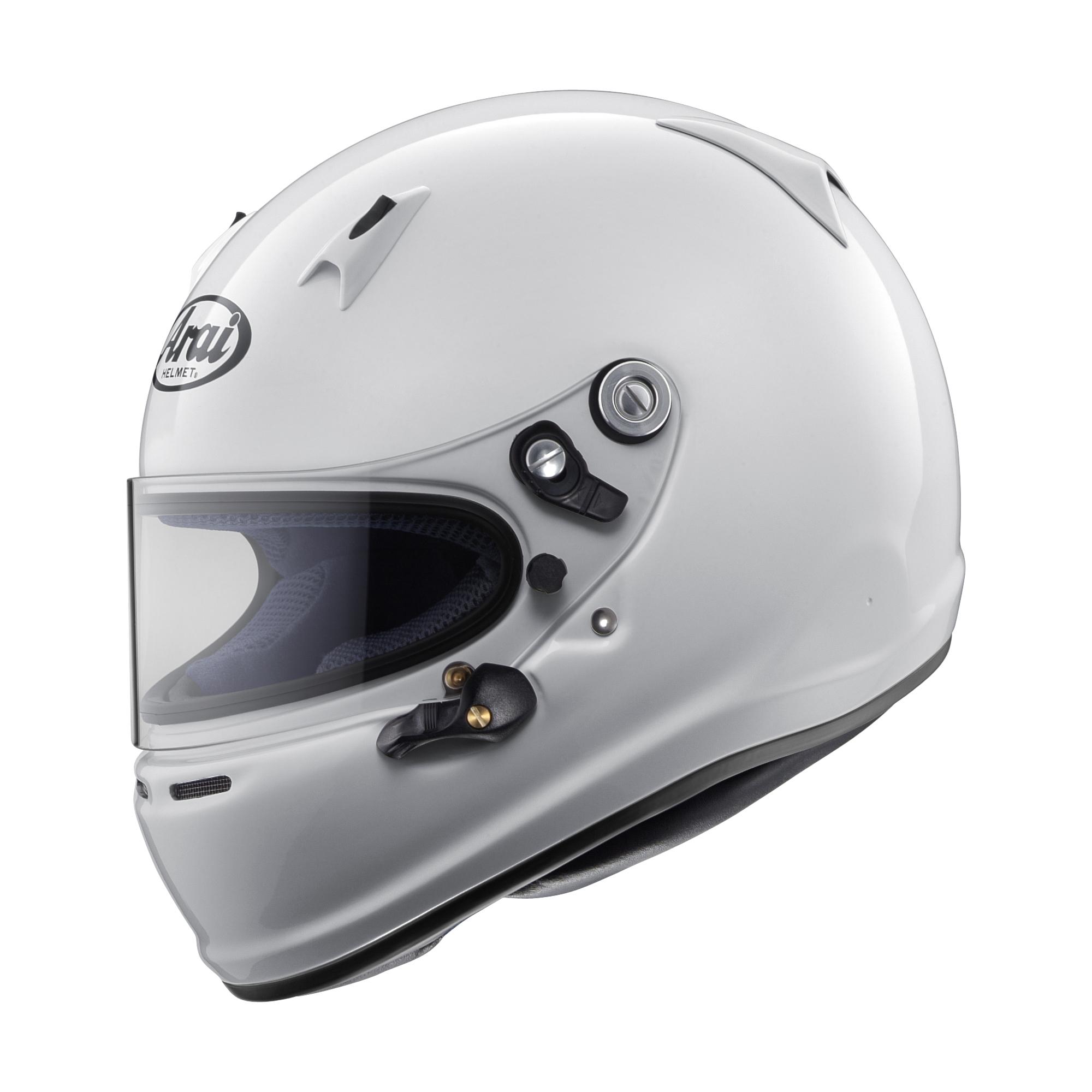 Arai Helmet 685311143563 Helmet, SK-6, Snell K 2015, White, Large, Each