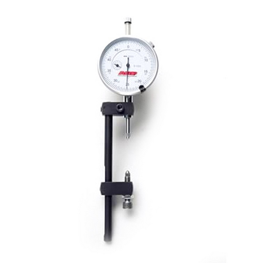 ARP 100-9941 Rod Bolt Stretch Gauge, Adjustable Length, Dial Indicator, 0.0005 in Increments, Steel Body, Each